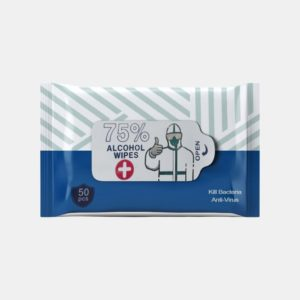 50ct Alcohol Cleaning Wipes Fusion Healthcare PPE Products