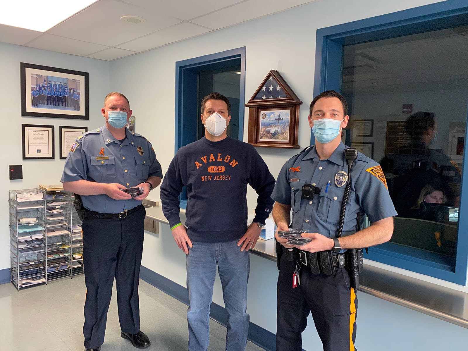 "Fusion PPE Donates Critical PPE to the Police Force in Avalon, NJ – The ""Cooler By A Mile"" Island"