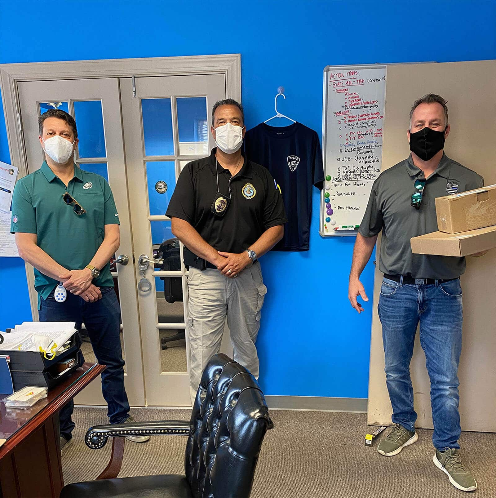 FUSION PPE DONATES CRITICAL PERSONAL PROTECTIVE EQUIPMENT