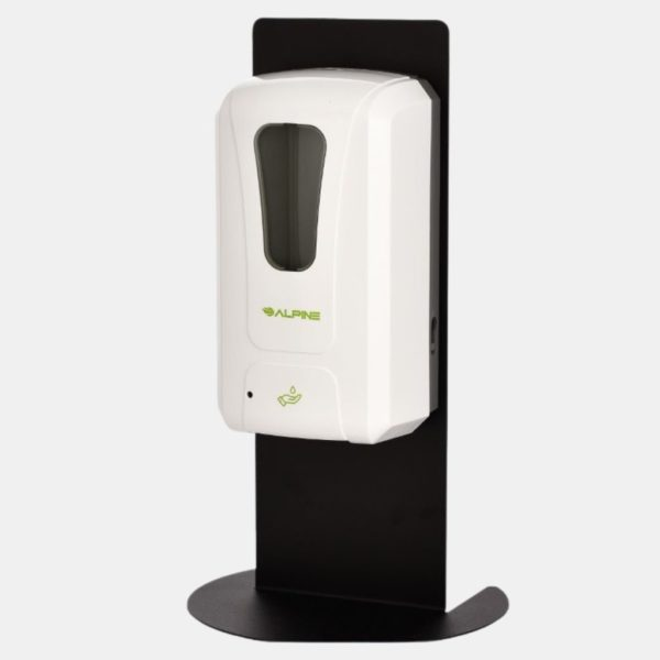 Automatic Hands-free Liquid gel Hand Sanitizer Dispenser With Partition Wall Stand Healthcare Fusion PPE Products