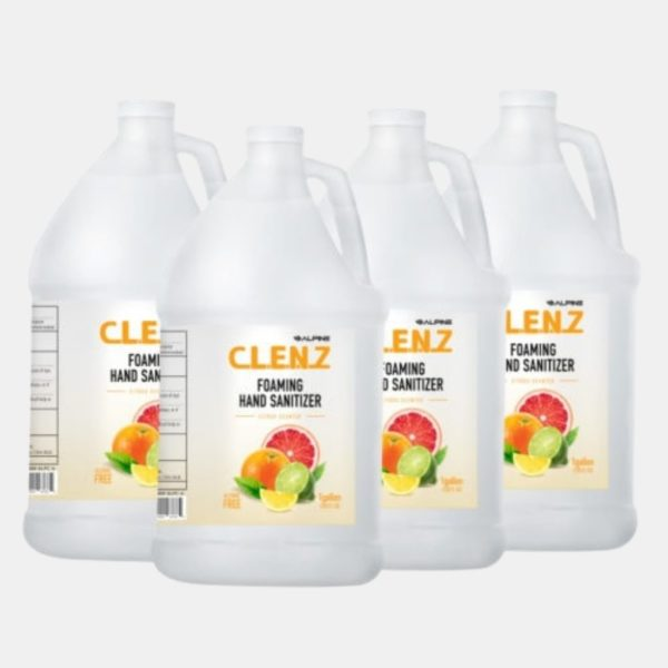 Clenz Instant Alcohol-free Foam Hand Sanitizer Fusion Healthcare PPE Products