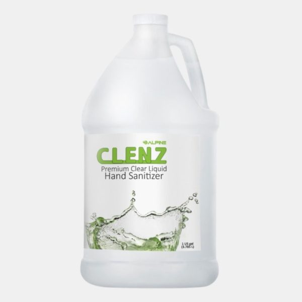 Clenz Instant Gel Hand Sanitizer Fusion Healthcare PPE Products